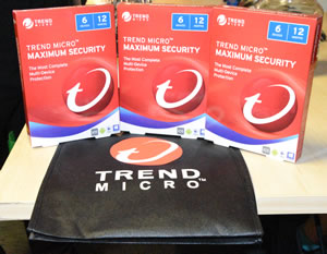 Trend Micro Maximum Security prizes