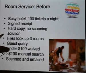 Fuji Slide 4 Room Service Example