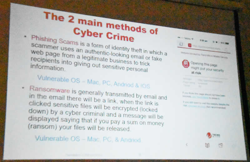 Trend Slide 5 Two major types of cyber crime