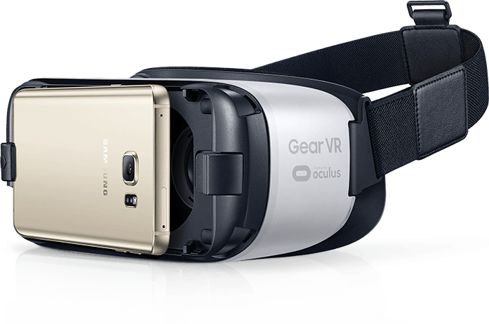 Gear VR with phone attached