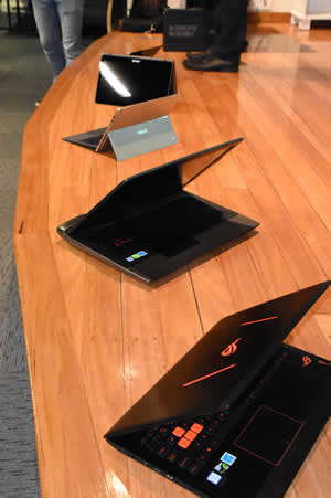 Oct 16 ASUS demo laptops