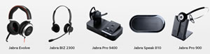 Jabra business headsets