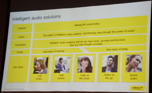Slide on inteligent Audio solutions