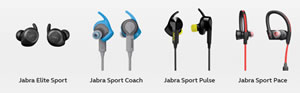Jabra sports headsets